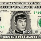 Spock - Leonard Nimoy - Star Trek - Collectible Dollar Bill - REAL Money!