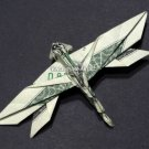 Money Origami DRAGON FLY - Dollar Bill Art - Made with $1.00
