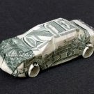 Money Origami CAR - Dollar Bill Art - Made with real $1 Cash
