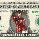 IronMan ( Marvel ) on REAL Dollar Bill Collectible Cash Money Iron Man