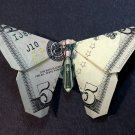 $5 Bill Money Origami BUTTERFLY - Dollar Bill Art - Made with $5.00 Cash