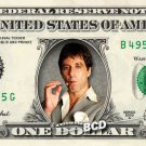 Al Pacino ( Scarface ) on REAL Dollar Bill Collectible Cash Money