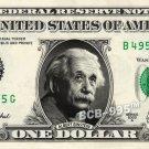 ALBERT EINSTEIN on REAL Dollar Bill - Celebrity Collectible Custom Cash