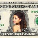 ARIANA GRANDE - Real Dollar Bill Cash Money Collectible Memorabilia Celebrity Novelty Bank Note