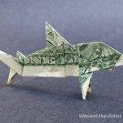 Money Origami SHARK - Dollar Bill Art - Made with $1.00 Cash