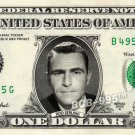 ROD SERLING on REAL Dollar Bill - Celebrity Collectible Custom Cash