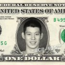 JEREMY LIN on REAL Dollar Bill - Celebrity Collectible Custom Cash