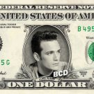 LUKE PERRY on REAL Dollar Bill Spendable Cash Celebrity Money Mint