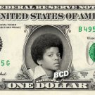 MICHAEL JACKSON on REAL Dollar Bill - Celebrity Collectible Cash Smooth Criminal