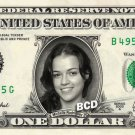 MICHELLE RODRIGUEZ on REAL Dollar Bill - Spendable Cash Celebrity Money Mint