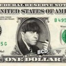 MOE HOWARD on REAL Dollar Bill - Celebrity Collectible Custom Cash Money