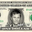 VIGGO MORTENSEN on REAL Dollar Bill Spendable Cash Celebrity Money Mint