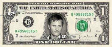 VIGGO MORTENSEN on REAL Dollar Bill Spendable Cash Celebrity Money Mint