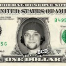 BAM MARGERA on REAL Dollar Bill collectible Cash Money Jackass $1