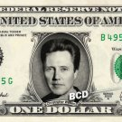CHRISTOPHER WALKEN on REAL Dollar Bill - Spendable Cash Celebrity Money $$