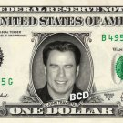 JOHN TRAVOLTA on REAL Dollar Bill Spendable Cash Celebrity Money Mint