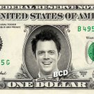 Johnny Knoxville on REAL Dollar Bill Spendable Cash Collectible Celebrity Money