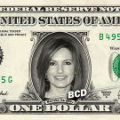 MARISKA HARGITAY on REAL Dollar Bill - Detective Benson Spendable Cash Money