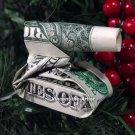 Money Origami BABY TANK - Dollar Bill Art - Made with $1.00 Cash