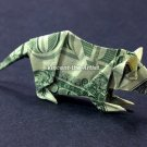 Money Origami MOUSE - Dollar Bill Art - Made with $1.00 Cash
