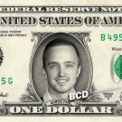 AARON PAUL / Jesse Pinkman - BREAKING BAD on REAL Dollar Bill Cash Money
