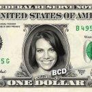 LAUREN COHAN on REAL Dollar Bill Spendable Money Walking Dead - Maggie Greene