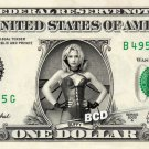 Buffy VAMPIRE SLAYER on REAL Dollar Bill Collectible Cash Celebrity Money Mint