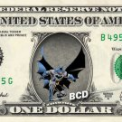BATMAN on REAL Dollar Bill - Collectible Celebrity Cash Money Art $