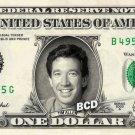 TIM ALLEN on REAL Dollar Bill Collectible Cash Celebrity Money Mint $1.00