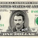 TOM SELLECK - Real Dollar Bill Cash Money Collectible Memorabilia Celebrity Novelty