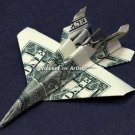 F-18 Jet Fighter Money Origami Dollar Military Army Navy Marines Air Force Soldier
