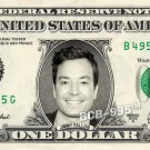 JIMMY FALLON on REAL Dollar Bill - Collectible Celebrity Custom Cash Money Art