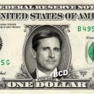 STEVE CARELL on REAL Dollar Bill collectible Cash Money The Office $1