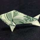 Money Origami TINY BABY FISH - Dollar Bill Art - Made with real $1 Cash