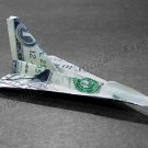 CONCORDE Jet Fighter Money Origami Military Gift for Army Navy Marines Air Force