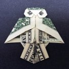 OWL Money Origami - Dollar Bill Art - Made with $1.00 bill