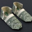 Money Origami SHOES - Dollar Bill Art - Made with Real $1.00 Cash