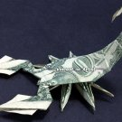 Money Origami SCORPION - Dollar Bill Art - Made with $1.00 Cash