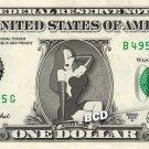 JESSICA RABBIT Who framed Roger Rabbit on REAL Dollar Bill Disney Cash Money