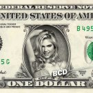 KATE UPTON on REAL Dollar Bill Spendable Cash Celebrity Money Mint
