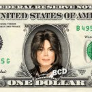 MICHAEL JACKSON on REAL Dollar Bill in COLOR - Celebrity Collectible Cash