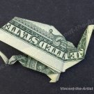 Money Origami DRAGON - Dollar Bill Art - Made with $1.00 Cash