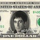 AL PACINO on REAL Dollar Bill - Celebrity Collectible Custom Cash