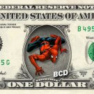 SPIDERMAN on REAL Dollar Bill - Collectible Celebrity Cash Money Art $$