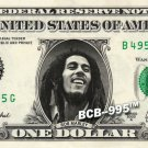 BOB MARLEY on REAL Dollar Bill - Celebrity Collectible Custom Cash