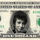 BOB DYLAN on REAL Dollar Bill Cash Money Collectible Memorabilia Celebrity Bank