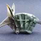 $2 bill Money Origami ARMADILLO - Dollar Bill Art - Made with real $2 Cash
