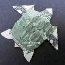 $2 Bill Money Origami SEA TURTLE - Dollar Bill Art - Made with $2.00 Cash