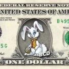 EASTER BUNNY - Real Dollar Bill Cash Money Collectible Memorabilia Novelty Bank Note Dinero