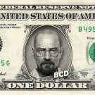 Walter White / Heisenberg - BREAKING BAD on REAL Dollar Bill Cash Money